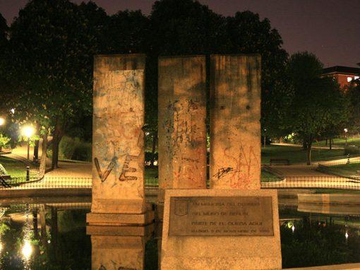 Fragmento del Muro de Berlín en Madrid (Parque Berlín)